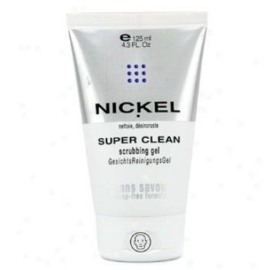 Nickel Super Clean Scrubbing Gel ( Soap-free Formula ) 125ml/4.2oz