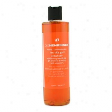 Ole Henriksen On The Go Cleznser ( For Normal/ Combination Skin ) 355ml/12oz
