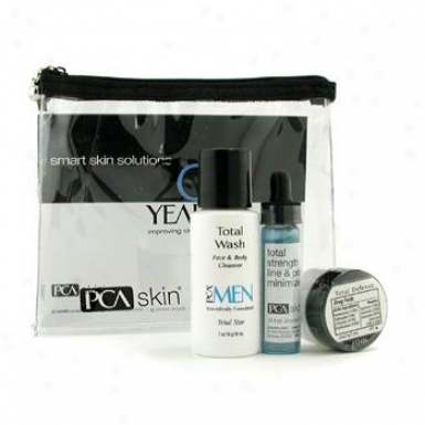 Pca Skin The Skin Charge Solution For Men ( Trial Size ) 3pcs