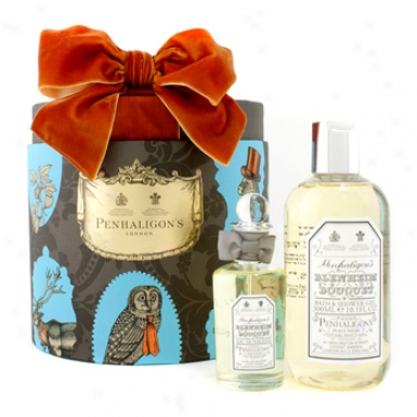 Penhaligon's Blenheim Bouquet Coffret: Eau De Toilette Spray 50ml/1.7oz + Bath & Shower Gel 300ml/10.1oz 2pcs