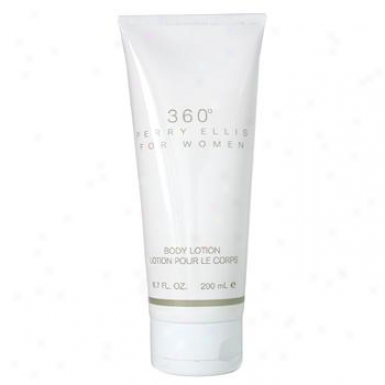 Perry Ellis 360 Body Lotion 200ml/6.70z