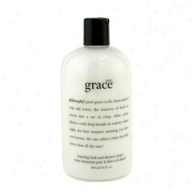 Philosophy Pure Grace Foaming Bath & Shower Cream 480ml/16oz