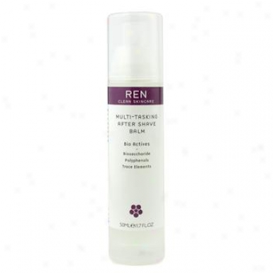 Ren Multi-tasking After Shave Balm ( All Skin Types ) 50ml/1.7oz