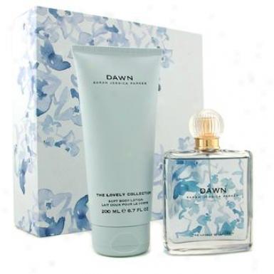 Sarah Jessica Parker The Lovely Collection Dawn Coffret: Eau De Parfum Spray 75ml/2.5oz + Body Lo5io n200ml/6.7oz 2pcs