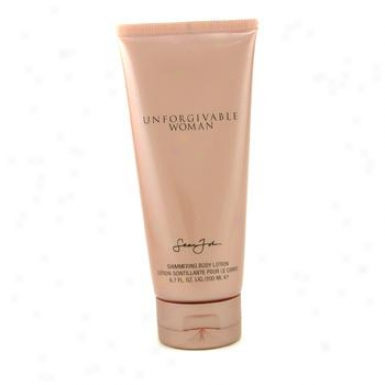 Sean John Unforgivable Shimmering Body Lotion ( Unboxed ) 200ml/6.7oz