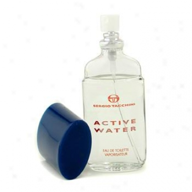 Sergio Tacchini Activ Water Eau De Toilette Spray 27ml/0.9oz