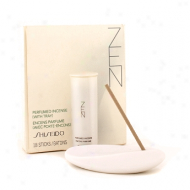 Shiseido Global Zen Perfumed Incense ( With Tray/ Box Slightly Damaged ) 18sticks
