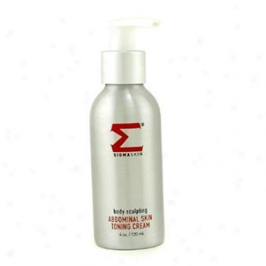 Sigma Skin Body Sculpting Abdominal Skin Toning Cream 120ml/4oz