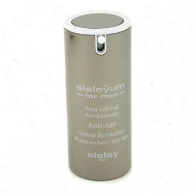 Sisley Sisleyum For Men Anti-age Global Revitalizer - Dry Skin 50ml/1.7oz