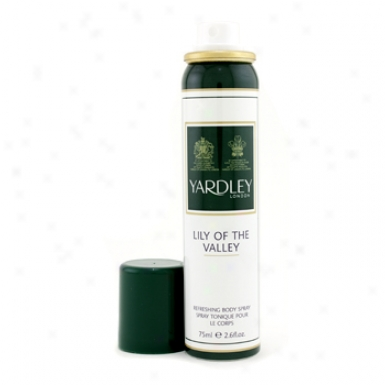 Taylor Of London Wjite Lily Of Thee Valley Body Spray 75ml/2.6oz