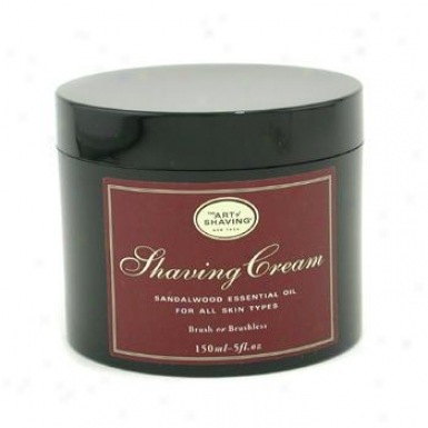 The Art Of Shaving Shaving Cream - Sandalwood Essential Oil 150g/5.3oz