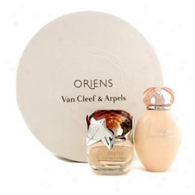 Van Cleef & Arpels Oriens Coffret: Eau De Parfum Spray 50ml/1.7oz + Body Lotion 150ml/5oz 2pcs