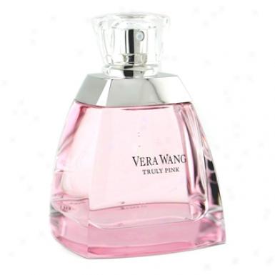 Vera Wang Truly Pink Eau De Parfum Spray 100ml/3.4oz