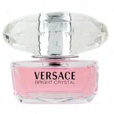 Versace Bright Crystal Eau De Toilette Spray 50ml/1.7oz