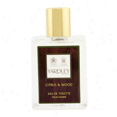 Yardley Citrus & Wood Eau Dd Toilette Spray 50ml/1.7oz