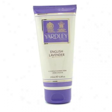 Yardley Emglish Lavender Luxurious Shower Cream 200ml/6.8oz