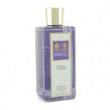 Yardley English Lavender Moisturising Bath Foam 300ml/10.1oz