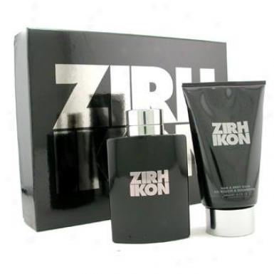 Zirh International Ikon Coffre5: Eau De Toilette Spray 125ml/4.2oz + Hair & Body Waash 200ml6.7oz 2pcs