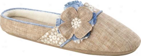 Acorn Grace Scuff (women's) - Sandstone Linen