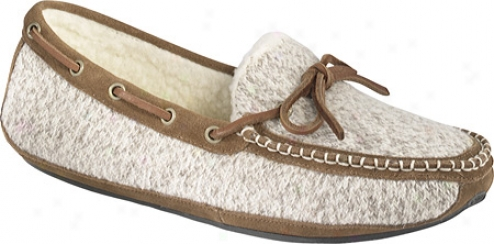 Acprn Ragg Time Moc (women's) - Grey Ragg Wool