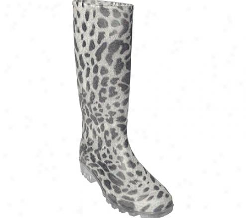 Adi Designs Animal Print Rainboot (women's) - Leopard