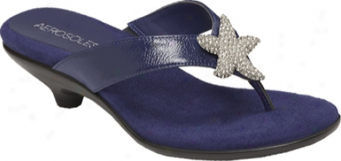Aerosoles Adorable (women's) - Dark Blue Patent