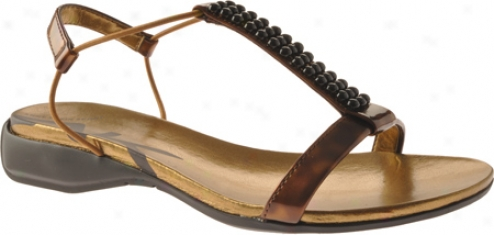 Ak Anne Klein Kutiepie (women's) - Brown Synthetic