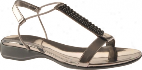 Ak Anne Klein Kutiepie (women's) - Dark Silver Synthetic