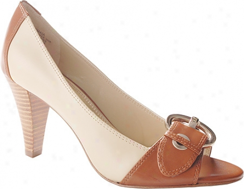 Ak Anne lKein Maia (women's) - Ivory/natural Leather