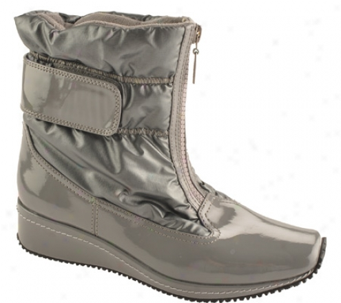 Antia Shoes Nikita (women's) - Wicked Grey Patent/bylon