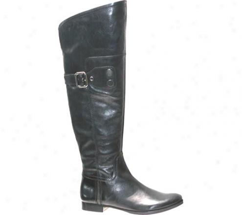 Apepazza Cagliari (women's) - Black Leather