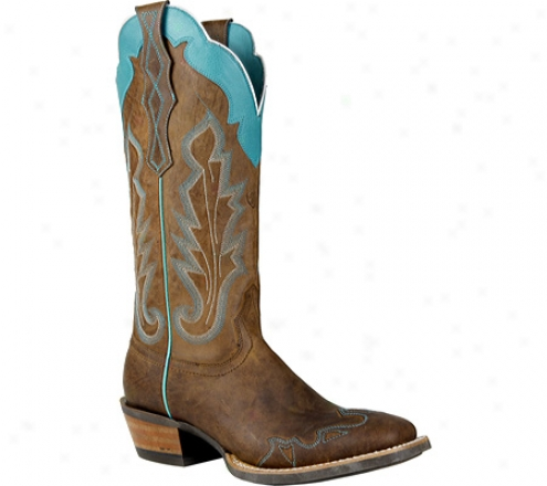 Ariat Caballera (women's) - Weathered Brown Full Grain Leather