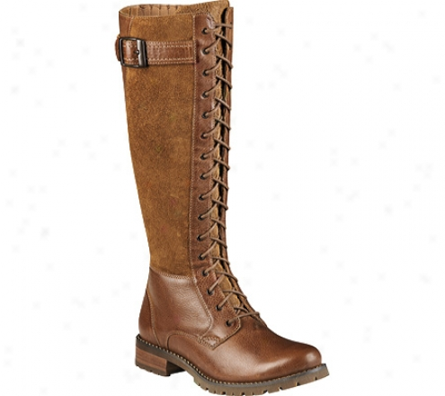 Ariat Ipna (women's) - Almond/tan Roughout Full Grain Leather