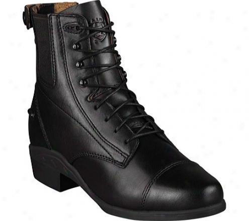 Ariat Performer Zip (women's) - Black Full Grain Leather