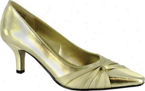Bella Vita Geyser Ii (women's) - Gold Metallic/satin
