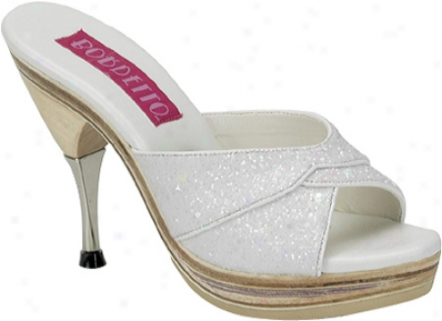 Bordello Genie 101g (women's) - White Glitter