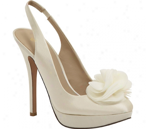 Brianna Leigh Bloom (women's) - Ivory Silk Satin