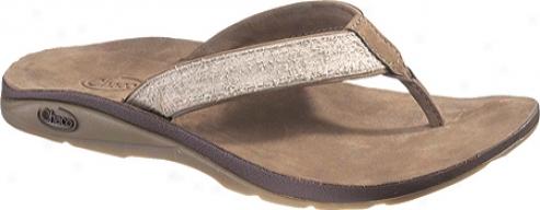 Chaco Leather Flippa Ecotread (women's) - Sand