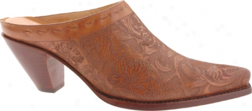 Charlie 1 Horse By Lucchese I6074 (women's) - Golden Tan Embossed Tool