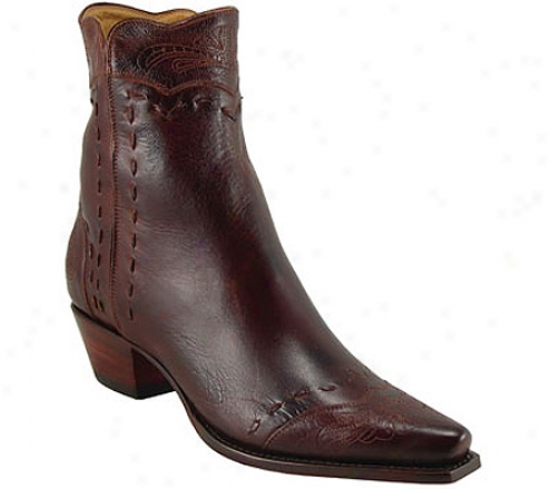 Charlie 1 Horse In the name of Lucchese I6504 (women's) - Brown Calf/stitched Wingtip/bhcklace