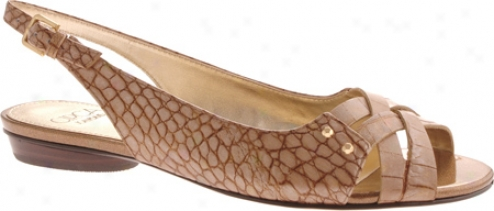 Circa Joan & David Edwarda (women's) - Gold Croc