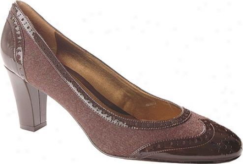 Circa Joan & David Flavia (women's) - Dark Brown Synthetic
