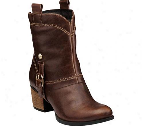 Clarks Saloon Laurel (women's) - Brown Leather
