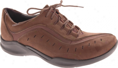 Clarks Wave.wheel (women's) - Chocolate Nubuck