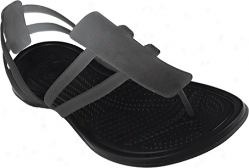 Crocs Adrina Strappy Sandal (women's) - Black/black