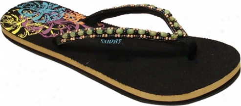 Cudas Baloo (women's) - Black Beads