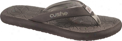 Cushe Floral Flop (women's) - Brown