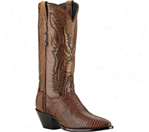 Dan Post Boots Genuine Teju Lizard Dp2451j (women's) - Antique Tan