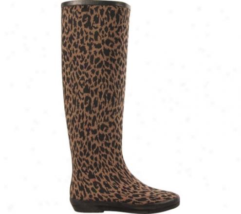 Dav Festival Leopard (women's) - Gunmetal Pvc