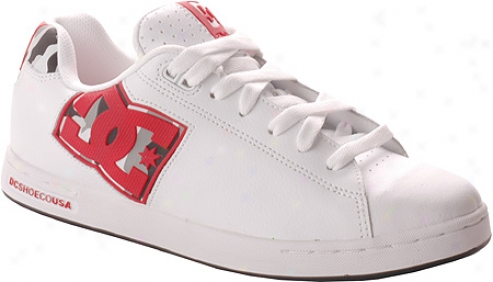 Dc Shoes Rob Dyrdek (women's) - White/black/athletic Red
